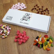 Load image into Gallery viewer, Personalised Get Well Soon Letterbox Sweets