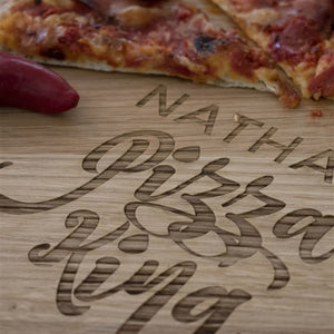 Personalised Pizza King Board