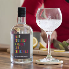Load image into Gallery viewer, Personalised Colourful Christmas Gin