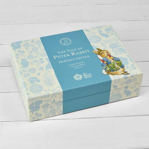 Peter Rabbit Royal Mint Silver Proof Coin & Book Gift Set (Limited Edition)