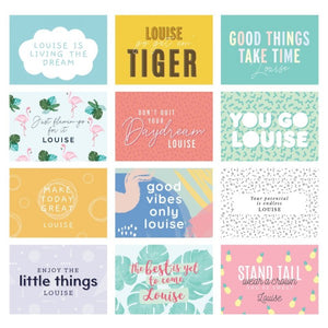 Personalised Motivational Quotes Desk Calendar