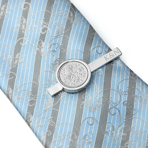 Personalised Lucky Sixpence Tie Pin