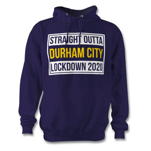 Straight Outta Lockdown Personalised Town Hoodie - Unisex