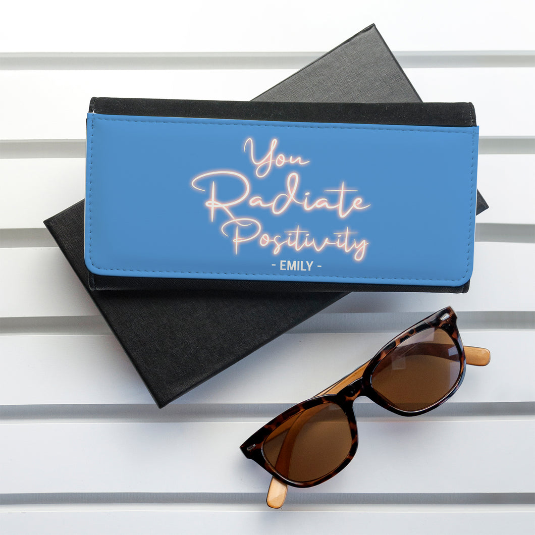 Personalised Radiate Positivity Purse Wallet