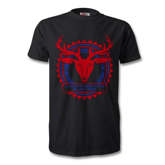 Personalised Virtual Stag Party T-Shirt
