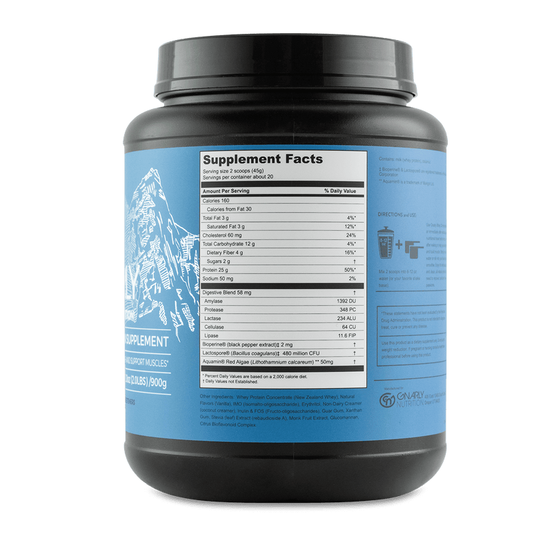 GNARLY WHEY - Survivor Wellness