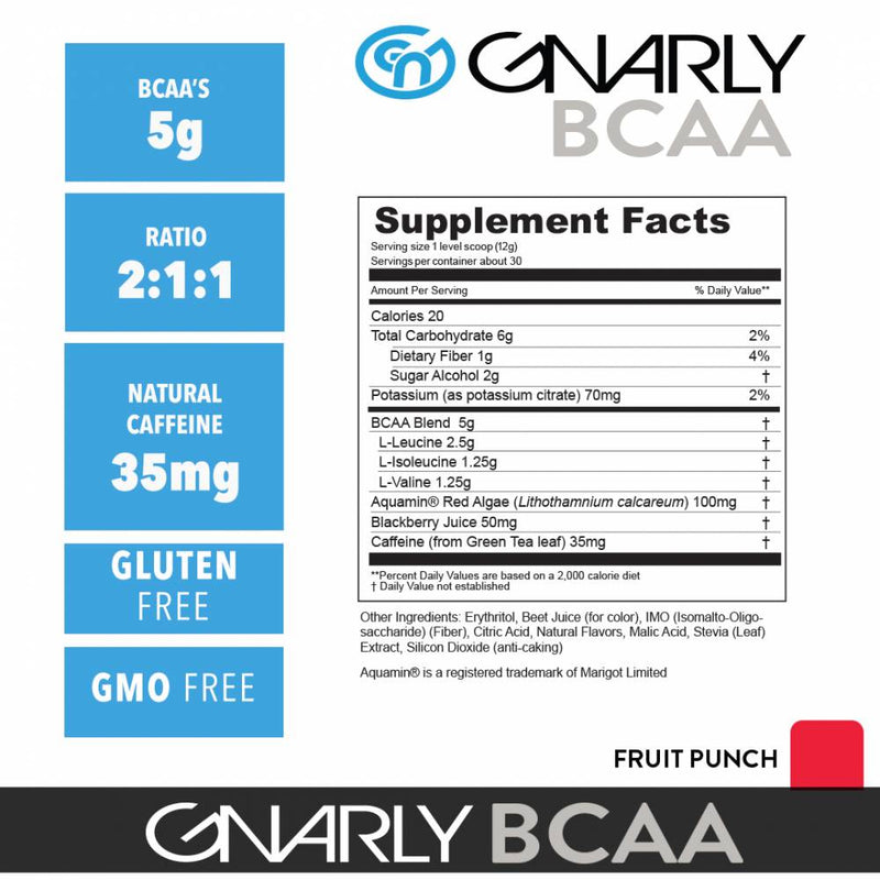 GNARLY BCAAS - Survivor Wellness