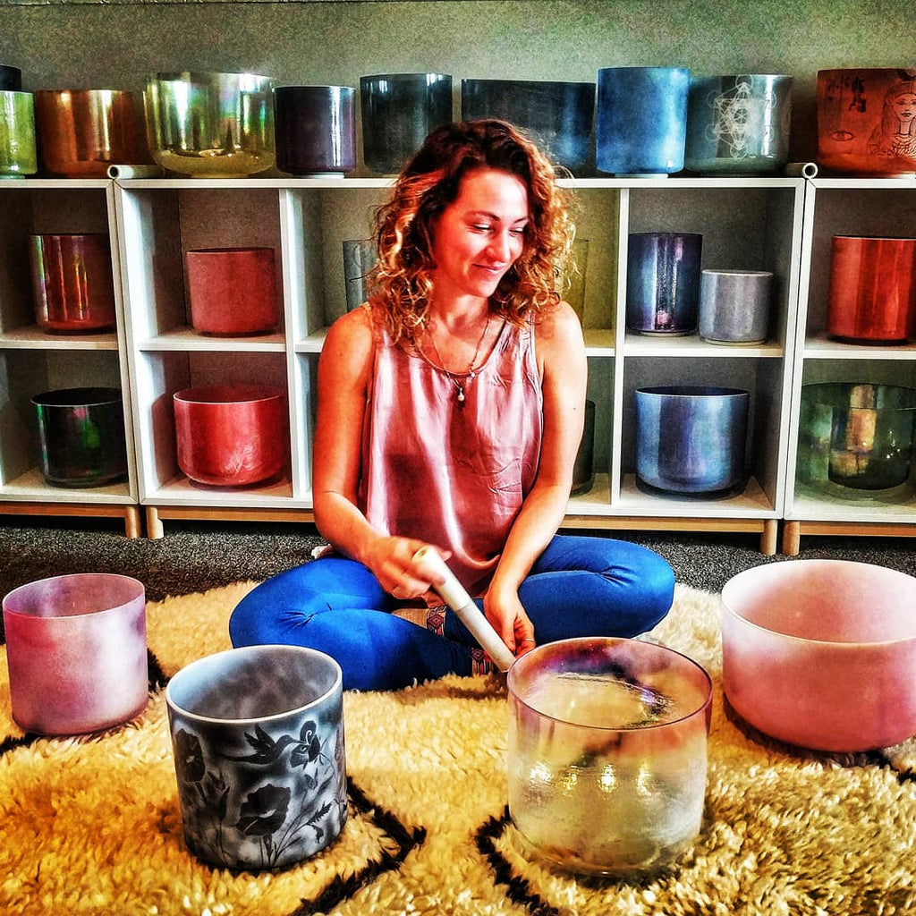 Crystal Bowl Meditation Class - Survivor Wellness