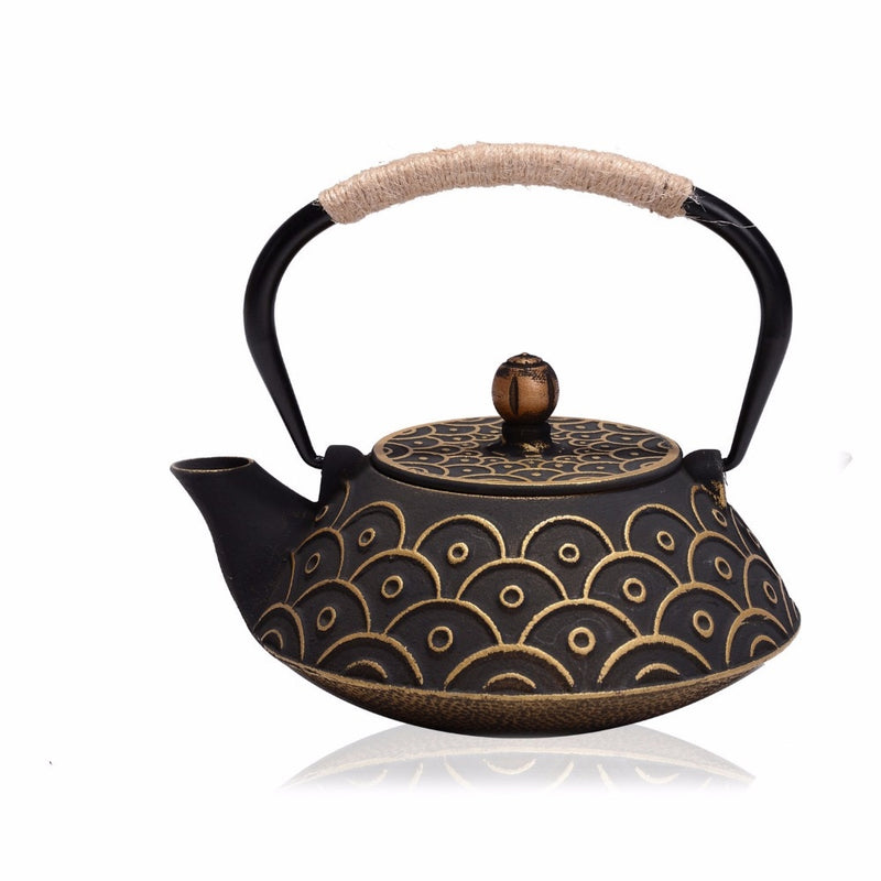 Cast Iron Japanese Tea Pot - Survivor Wellness