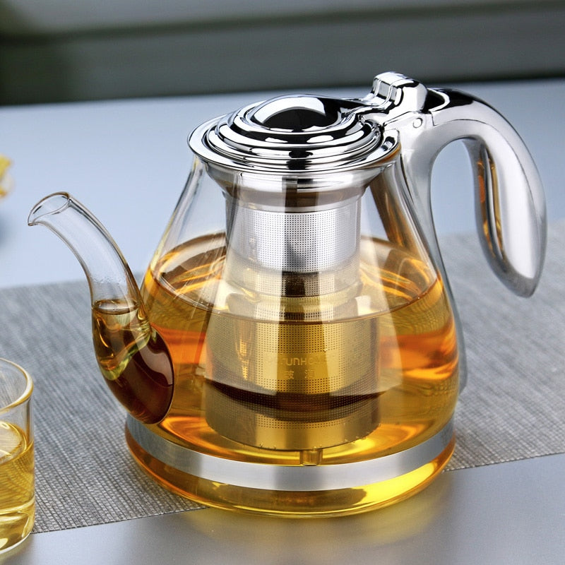 Glass Tea Pot - Survivor Wellness
