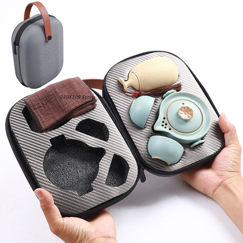 Japanese Travel Tea Sets - Survivor Wellness