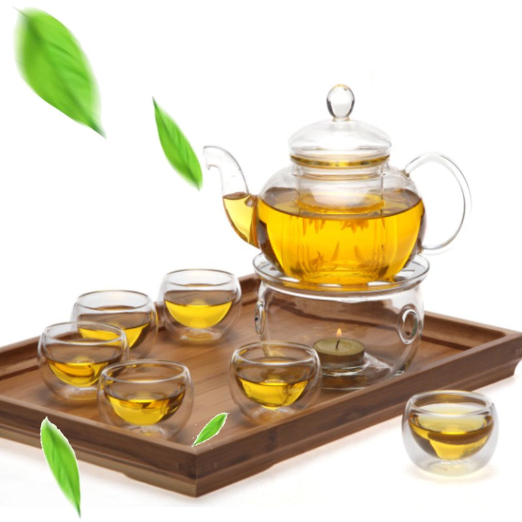 Heat-Resisting Teapot Set  8 Pcs/Set - Survivor Wellness