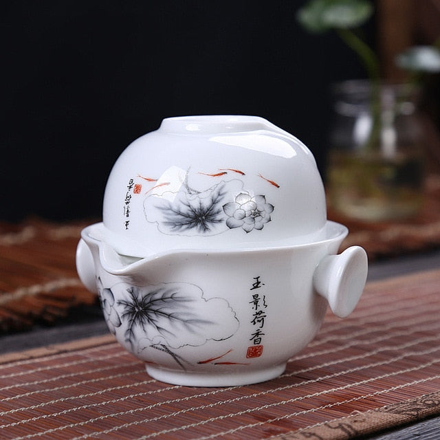 Kung Fu Tea set - Survivor Wellness