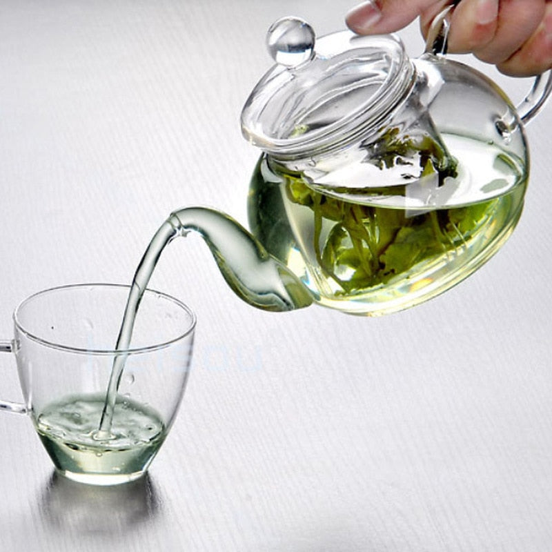 Glass Tea Pot  Infuser - Survivor Wellness