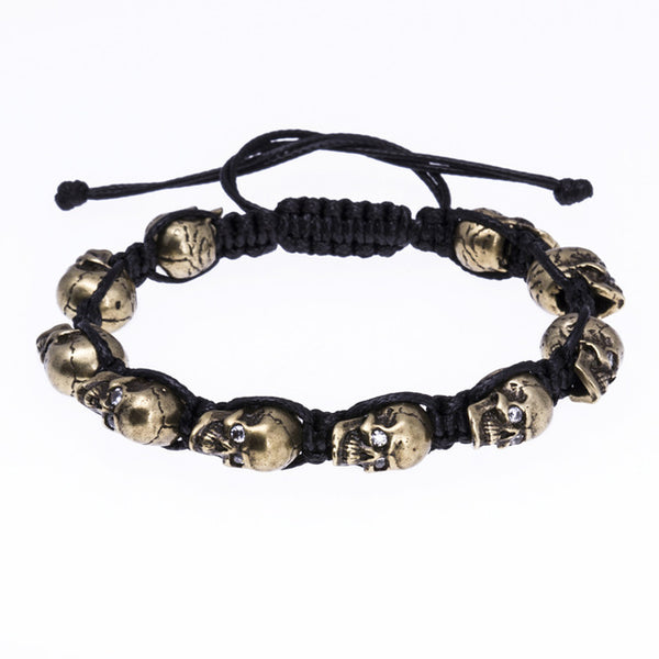 Death's Collection Threaded Bracelet