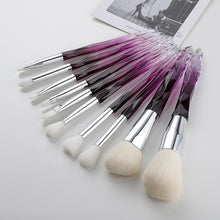 Load image into Gallery viewer, makeup brushes Set Cosmetic diamond