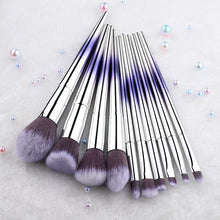 Load image into Gallery viewer, Professional Makeup Brush Set Colorful