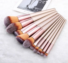 Load image into Gallery viewer, Pieces Kabuki Makeup Brushes Set