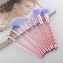Load image into Gallery viewer, Makeup Brushes Set Diamond Crystal
