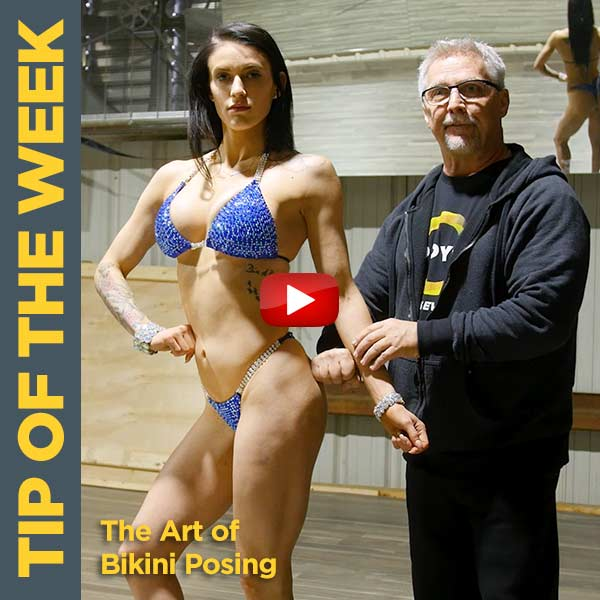 The Art of NPC/IFBB Pro Bikini Competition Posing