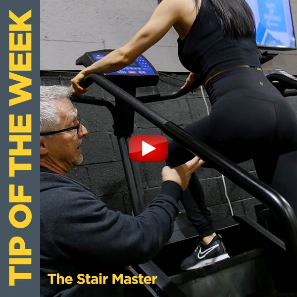 How To Properly Use The Stair Master