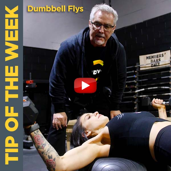 Coach Kim Oddo Builds Upper Chest with Dumbbell Flys