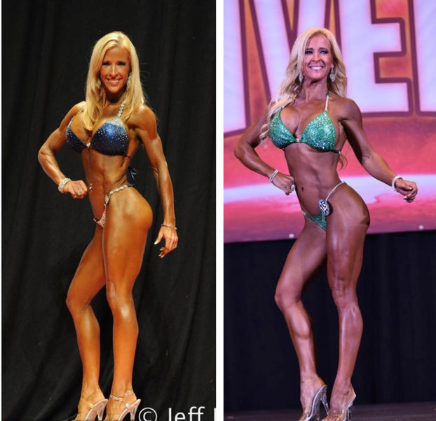 IFBB Bikini Pro Shoshanna Cairns Transformation Tuesday Testimony