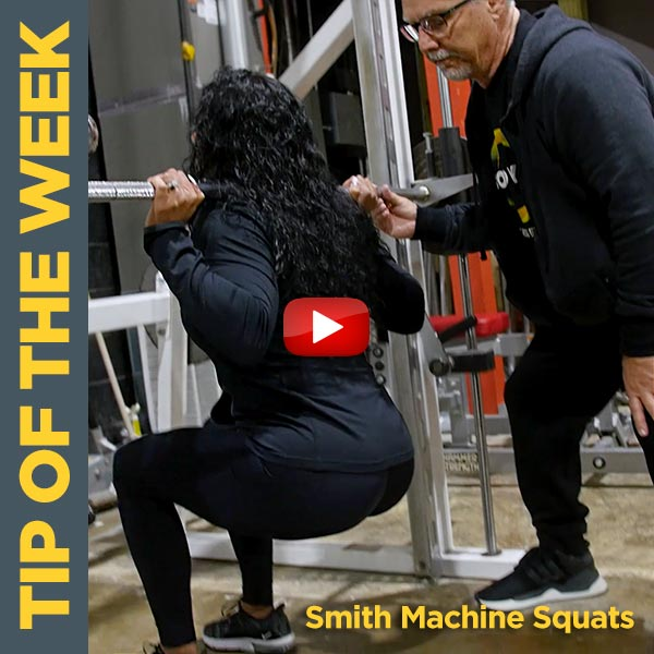 Coach Kim Oddo Stresses The Importance of Foot Positioning on Smith Machine Squats