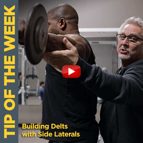 Coach Kim Oddo Builds Popping Delts with Side Laterals