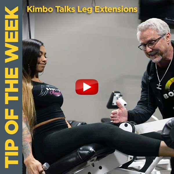 Flex Your Quads with Kimbo