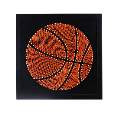 Handmade Basketball Hand String Art DIY Gift