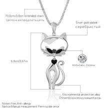 Load image into Gallery viewer, Cat Necklace For Women