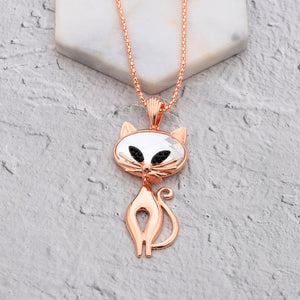 Cat Necklace For Women