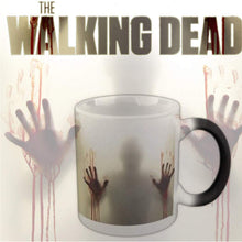 Load image into Gallery viewer, Color Changing Ceramic Mug In The Walking Dead Heat Sensitive