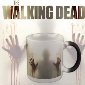 Color Changing Ceramic Mug In The Walking Dead Heat Sensitive
