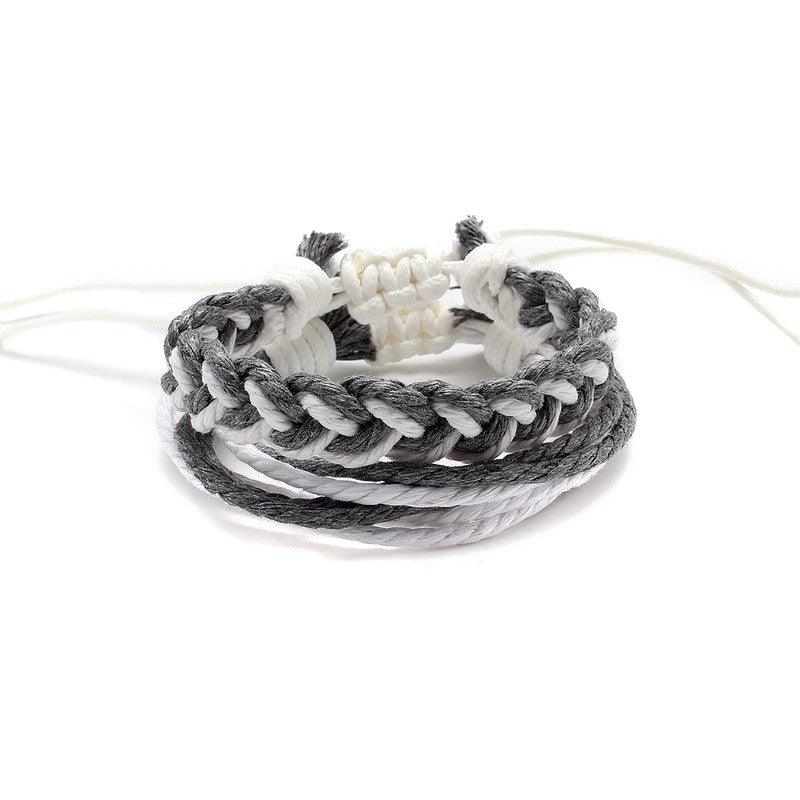 Woven Rope Bracelet Simple Style