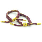 Kobe Bryant Bracelet Shoelace The Black Mamba for Basketball Fans