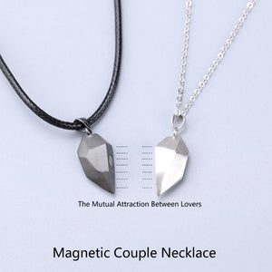 Magnetic Heart Pendant for Couple Lovers