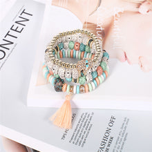 Load image into Gallery viewer, Multilayer Beads Bracelets