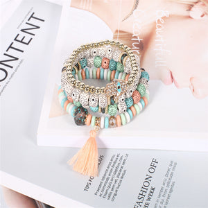 Multilayer Beads Bracelets