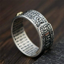 Load image into Gallery viewer, Pixiu Feng Shui Buddhist Rings Amulet Wealth Lucky Open Adjustable