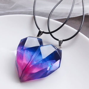 Frienship Necklace Couple Aurora