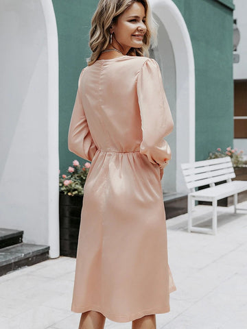 products/Silk_Midi_Dress_Vintage_V_Neck_A-Line_Pink_Green_2.jpg