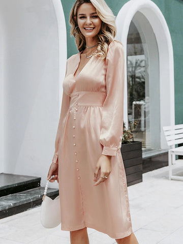 products/Silk_Midi_Dress_Vintage_V_Neck_A-Line_Pink.jpg