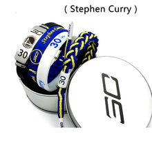 Load image into Gallery viewer, Basketball Player Bracelets Stainless Steel Adjustable ID Bracelets