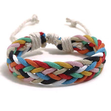Load image into Gallery viewer, Cord Bracelet Handmade Colorful