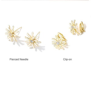 925 Sterling Silver Tiny Stud Earrings Daisy Flower Earrings Blossom Stud Earrings for Women