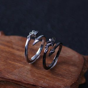 dragon-wings-couple-rings-balck-white-open-adjustable-jewelry-valentine-gift