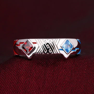 Darling in the FranXX Zero Two & Hiro Anime Inspired Love Friendship Ring