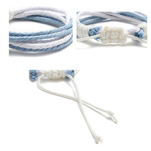 Load image into Gallery viewer, Woven Rope Bracelet Simple Style